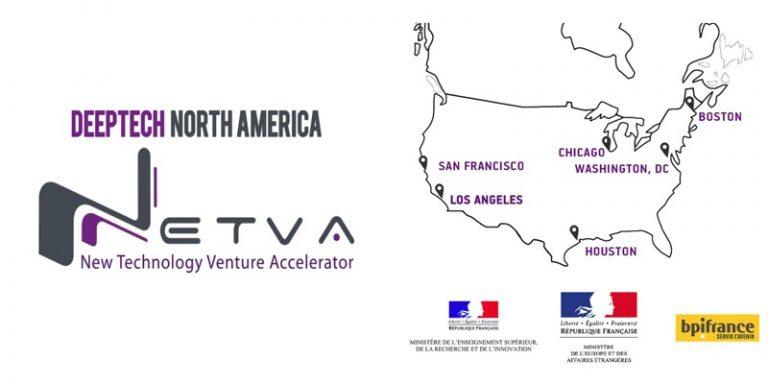 Deeptech North America – NETVA'20 : 14 start-up deeptech françaises innovantes ont été sélectionnées
