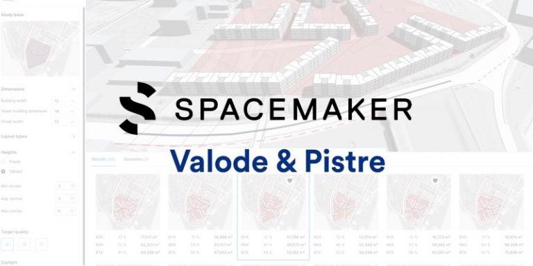 Intelligence artificielle et Immobilier : Valode&Pistre signe un partenariat avec Spacemaker AI