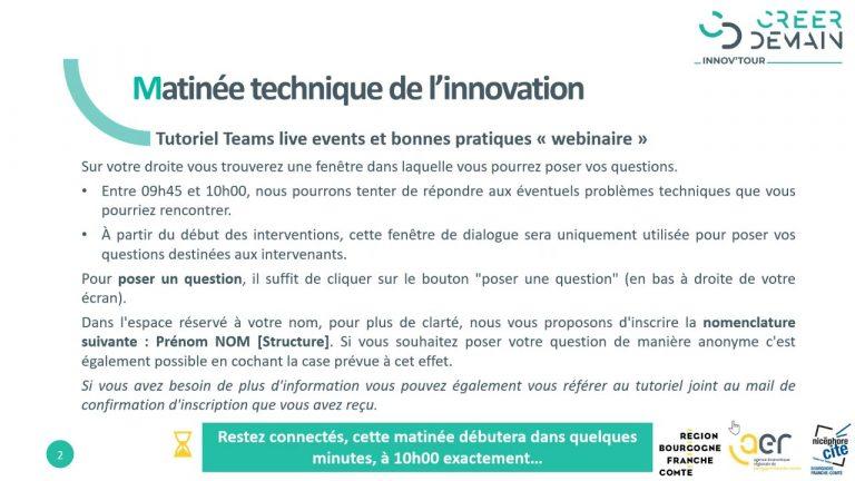 """""""L'intelligence artificielle au service de la performance industrielle"""" au coeur du webinaire de l'AER BFC et Nicéphore Cité"""