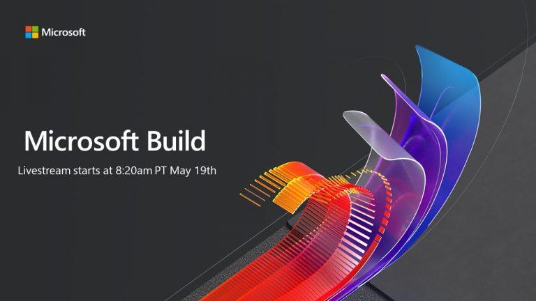 Suivez la Microsoft Build 2020 en Livestream