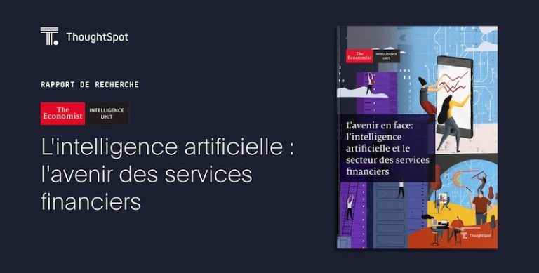 Rapport de recherche ThoughtSpot : L'intelligence artificielle et le secteur des services financiers