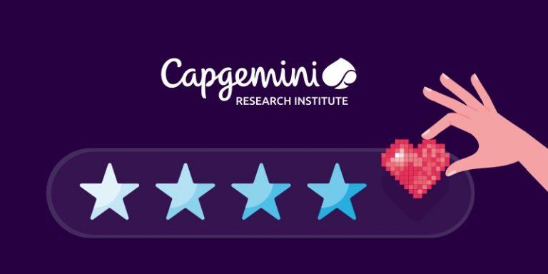 Les interactions client reposant sur l'IA auraient doublé en 2 ans selon un rapport du Capgemini Research Institute