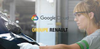 Partenariat Renault Google Cloud Industrie 4.0