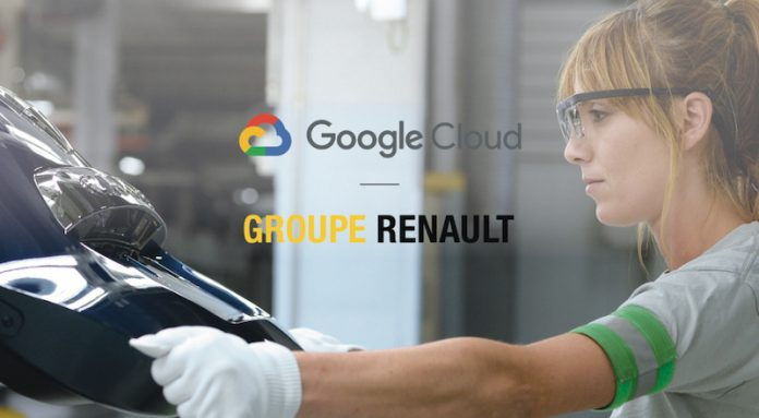 Partenariat Renault Google Cloud Industrie 4.0