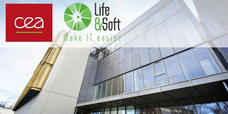 Partenariat Life & Soft et CEA en bio-informatique, génomique, intelligence artificielle et technologies d'imagerie de pointe