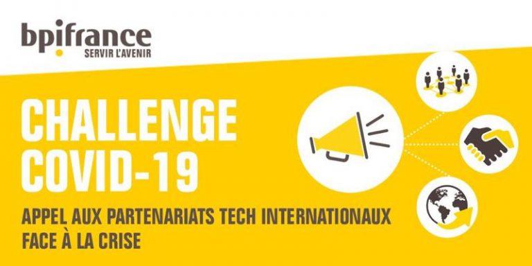 8 startups et PME françaises lauréates de l'appel à projets EUREKA – Challenge international COVID-19
