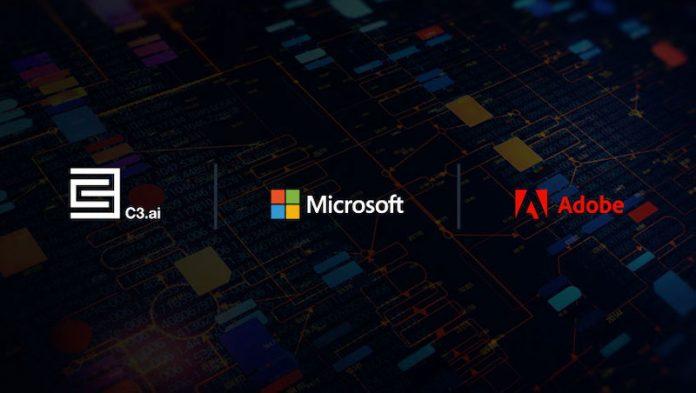 C3 AI CRM Adobe Microsoft