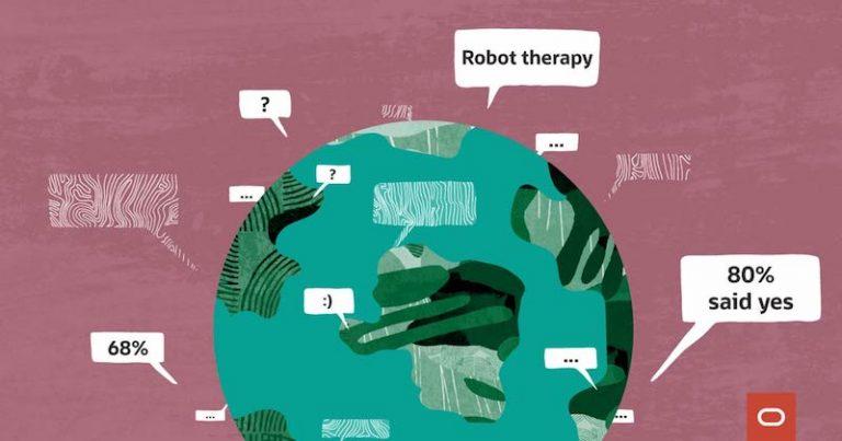 IA au travail : 82% des salariés dans le monde préfèrent se tourner vers des robots pour préserver leur santé mentale selon une étude Oracle & Workplace Intelligence
