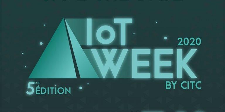 IoT Week 2020 by CITC lance un appel à pitcher ouvert aux startups jusqu'au 6 novembre