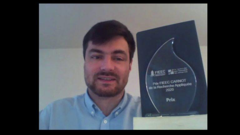 Nicolas Sabouret, lauréat du Prix FIEEC CARNOT de la recherche appliquée