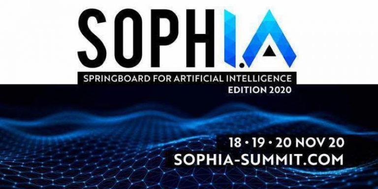 SophI.A Summit : Rendez-vous du 18 au 20 novembre pour une édition de très haut niveau en 100% digital