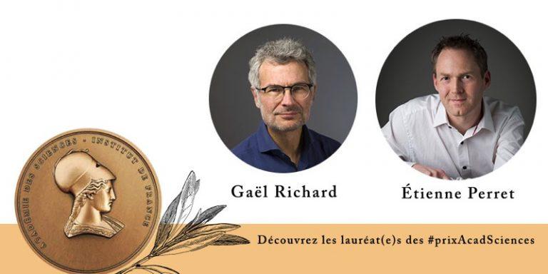 Gaël Richard et Étienne Perret, lauréats 2020 des prix IMT – Académie des sciences