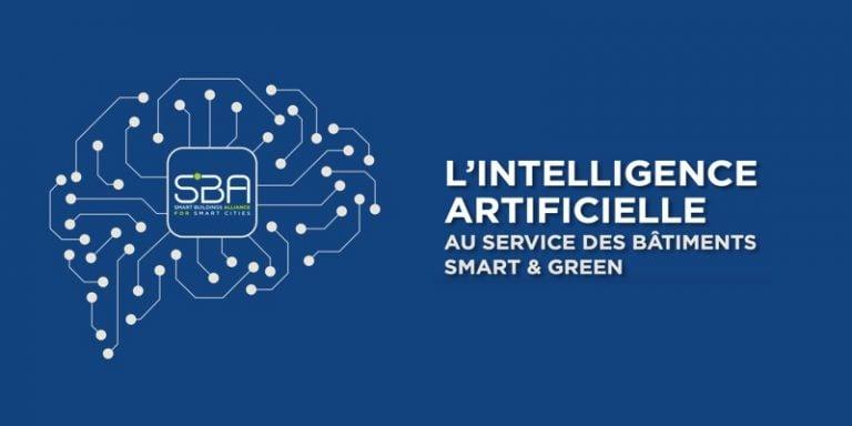 Smart & Green : La SBA publie son livre blanc sur l'intelligence artificielle au service des bâtiments et de la ville