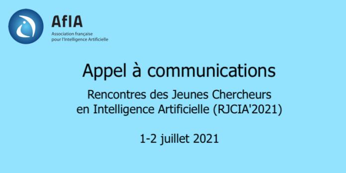RJCIA 2021 Appel à communications