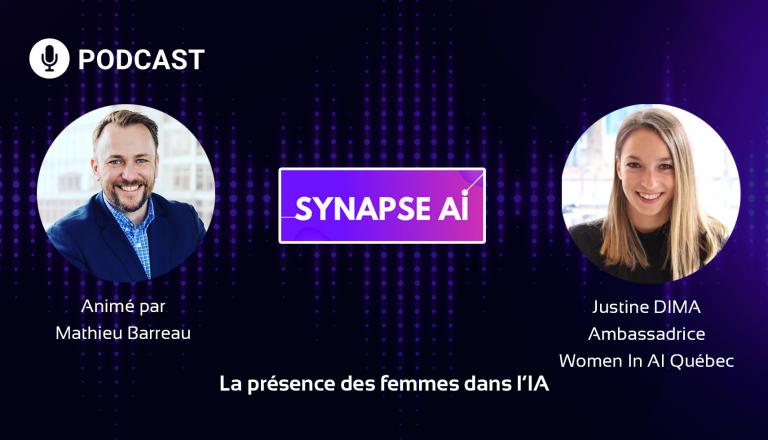 Podcast : la présence des femmes dans l'intelligence artificielle – Synapse AI N°2