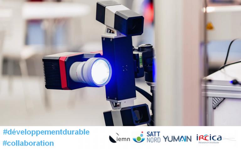 IEMN/IRCICA et Yumain avec le soutien de la SATT Nord ont développé des capteurs d'images à IA embarquée