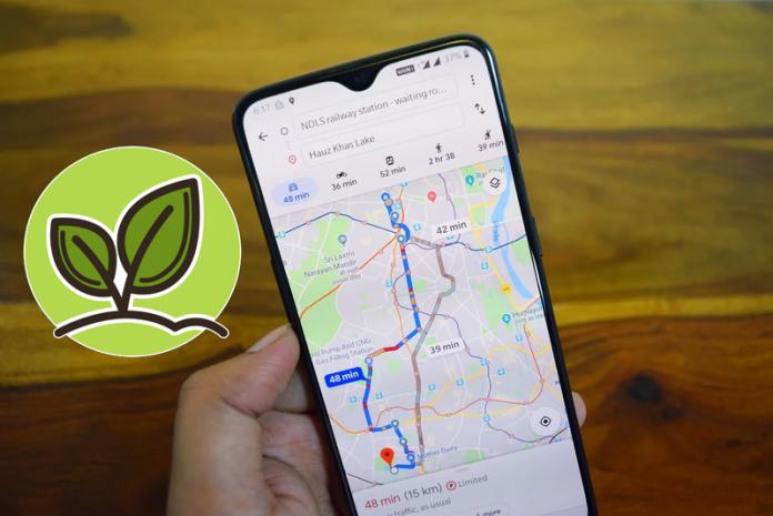 Google Maps va lancer courant 2021 une fonctionnalité qui proposera le trajet le plus écologique pour ses itinéraires