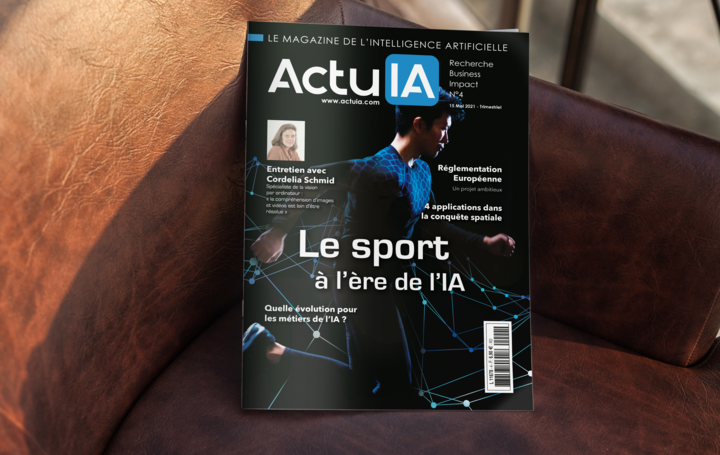 Recevez le numéro 4 d'ActuIA, le magazine de l'intelligence artificielle !