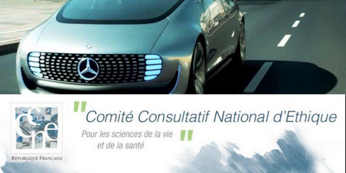 CNPEN avis consultatif véhicules autonomes éthique intelligence artificielle