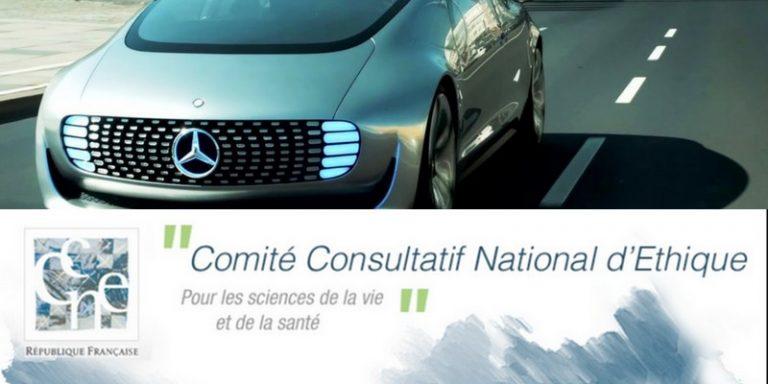 Le Comité national pilote d'éthique du numérique donne son avis sur les véhicules autonomes