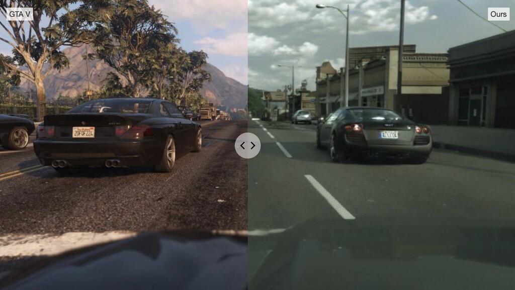 modèle machine learning transforme image photoréaliste