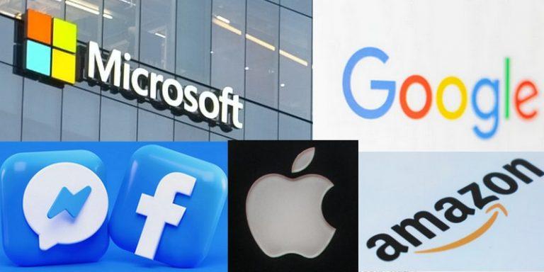 GAFAM : retour sur leurs stratégies et acquisitions en matière d'intelligence artificielle en 2020