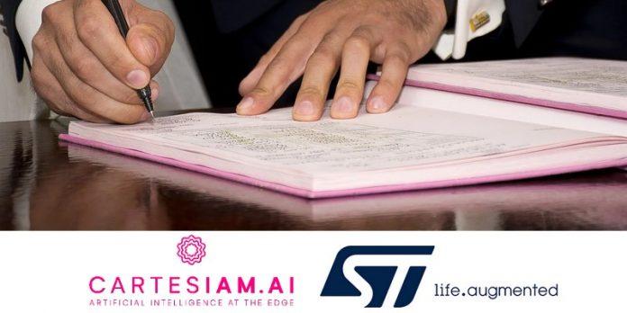 STMicroelectronics acquiert Cartesiam acquisition éditeur logiciel outils intelligence artificielle machine learning portefeuille technologique