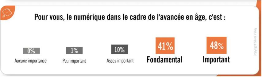 importance du numérique sondage séniors