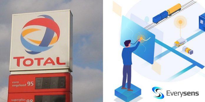 Total Everysens partenariat contrat international signature intelligence artificielle logiciel supply chain ferroviaire