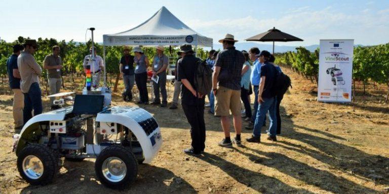 VineScout : un robot d'observation viticole autonome élaboré par l'Université Polytechnique de Valence