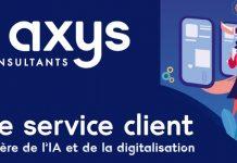 Axys Consultants service client enquête étude sondage intelligence artificielle data chatbots automatisation téléconseillers