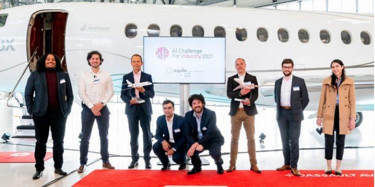 """Challenge """"AI for Industry 2021"""" : Aquila Data Enabler et l'ISAE Supméca vainqueurs"""