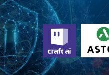 Craft AI Astekstart-up partenariat collaboration solution machine learning cybersécurité protection données sécurité