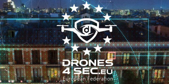 DRONES4SEC fédération souveraine drones sécurité cybersécurité protection données collaboration