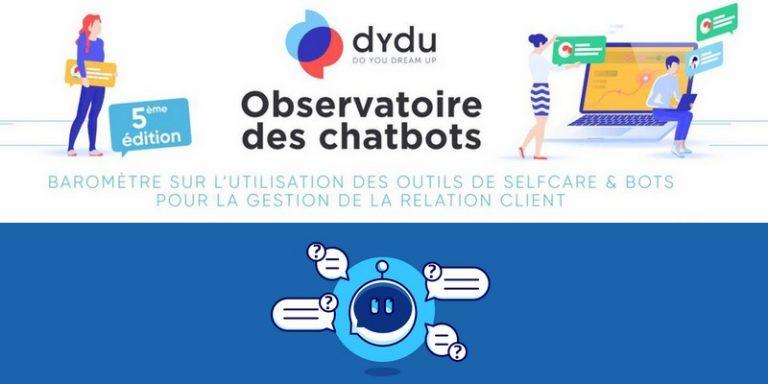 La société Dydu publie son enquête autour des robots conversationnels et des outils de selfcare
