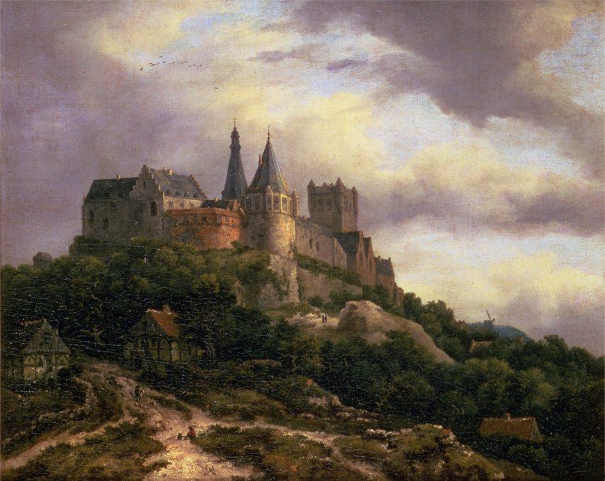 Le Château de Bentheim, Jacob van Ruisdael
