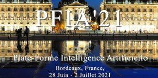 conférence journées PFIA 2021 plateforme intelligence artificielle