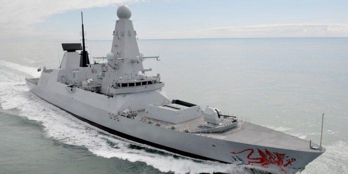 Royal Navy application intelligence artificielle défense OTAN