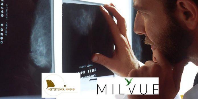 Systemx Milvue solution intelligence artificielle imagerie médicale radiologie plateforme partenariat intégration