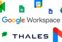 Thalès Google partenariat solution protection données suite application exploite intelligence artificielle