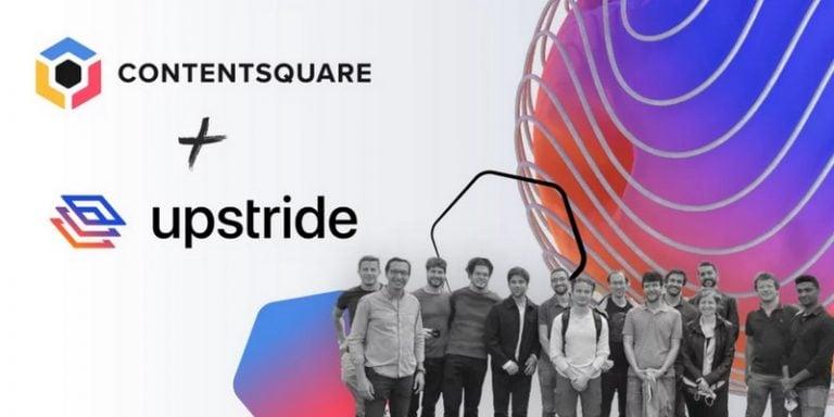Contentsquare annonce l'acquisition de Upstride et une levée de fonds de 500 millions de dollars