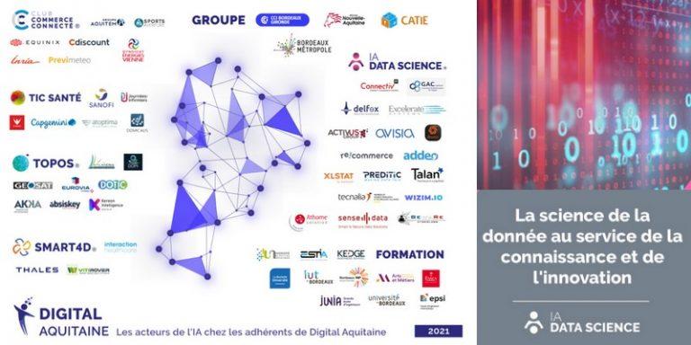 """Digital Aquitaine lance son domaine d'excellence """"IA Data Science"""" en Nouvelle-Aquitaine"""
