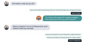 BlenderBot 2.0 chatbot facebook ai research machine learning