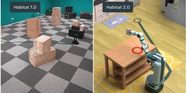 Facebook AI Innovation Summit : Habitat 2.0, un simulateur pour aider les robots dans les tâches domestiques
