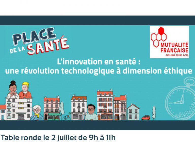 Intelligence artificielle en santé : visionnez la table ronde de la Mutualité française Auvergne-Rhône-Alpes