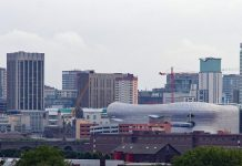 conseil municipal Birmingham outil intelligence artificielle examen sites constructible start-up Urban Intelligence