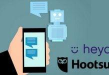Hootsuite acquisition Heyday plateforme agent intelligence artificielle conversationnelle réseau social messagerie ligne e-commerce