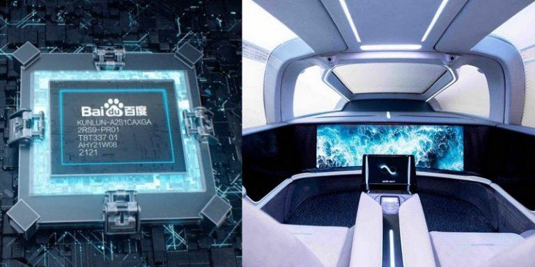 Baidu World 2021 : annonce d'une voiture autonome de niveau 5 et de la production en masse de sa puce d'IA