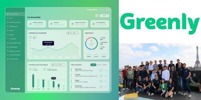 Greenly intelligence artificielle écologie émission carbone solution SaaS levée fonds financement
