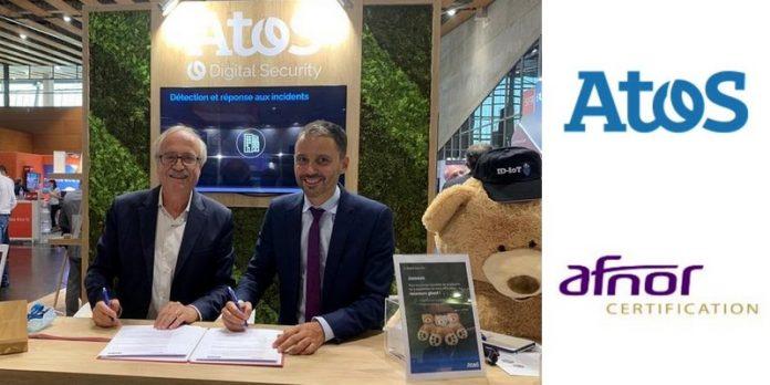 Label Atos AFNOR certification internet des objets IoT sécurité cybersécurité